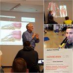 """Aeromix Fitneso mokymo centras - """"Sporto medicina, judesių anatomija. Nugaros traumos sporte."""" (Dalius Barkauskas). 2017 m. rugsėjo 29 d."""